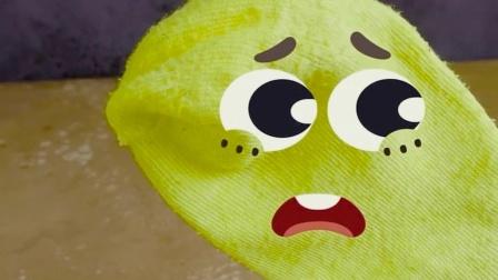 表情动画,袜子被夹得很疼?