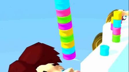 趣味小游戏:怎么都偷吃我的棉花糖呀