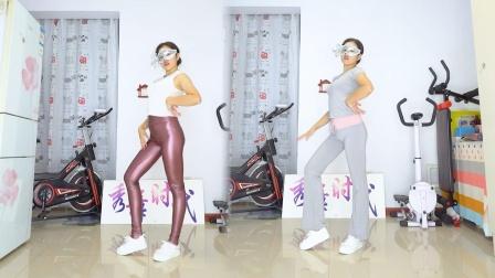 秀舞时代 微微 泫雅 Lip Hip 舞蹈 皮裤瑜伽裤美女跳