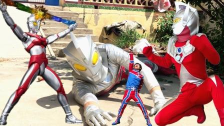 闯关族M78:怪兽设陷阱引光太郎来地球救哥哥!泰罗奥特曼VS机械艾斯!