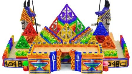 巴克球建造一座法老金字塔