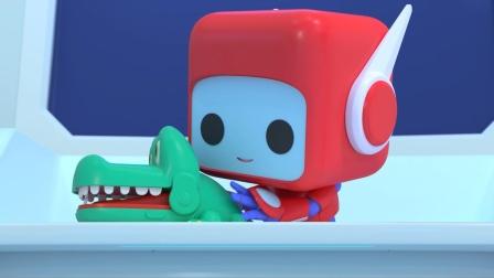 儿童益智动画:比普通鳄鱼还要厉害的沼泽鳄鱼