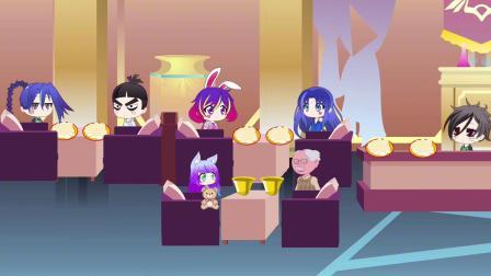 斗罗剧场:小舞唐三,做好事,把自己的饺子送给小朋友吃