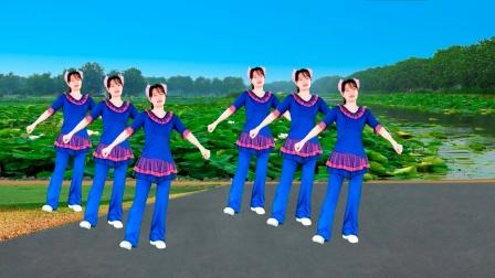 热曲美舞《对面的小姐姐》来啦,歌声动听,舞步优美好看