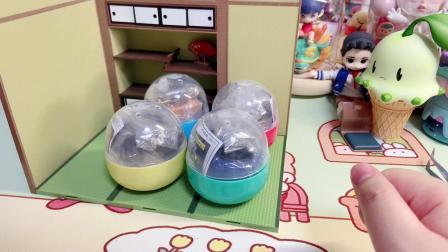 扭蛋购物分享又来了日版扭蛋 EPOCH 潮玩微缩摆件玩具