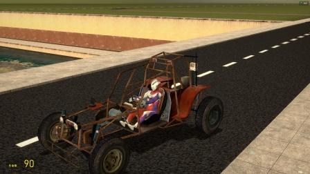 迪迦奥特曼发明了一辆汽车,还在草原上漂移
