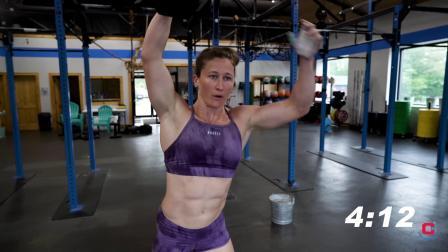 CROSSFIT 世界上最强壮的女人 日常训练测试项目