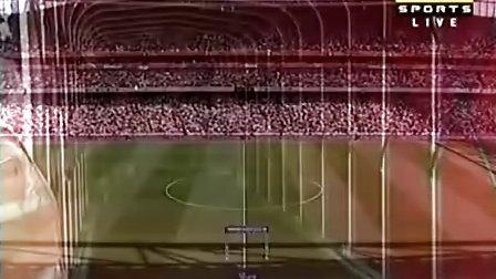 4月4日 英超第31轮 阿森纳vs曼城 上半场