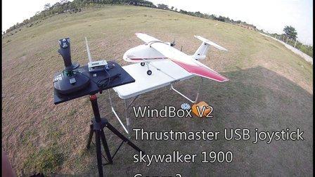 风雷盒子windbox 飞 skywalker 1900 fpv