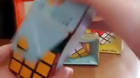 Vintage rare Rubik's Cube and Pyraminx