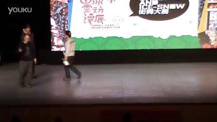 哈尔滨街舞 Dancing And ICE-SNOW 8进4 李忠磊vs 孟令宇