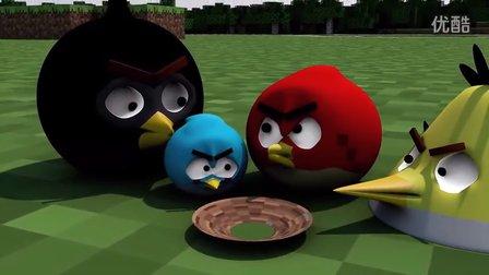 ★我的世界★Minecraft《愤怒的小鸟在MC》