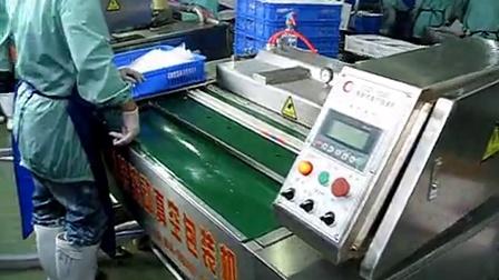康贝特食品包装机械的包装机:中山1000包装机现场使用
