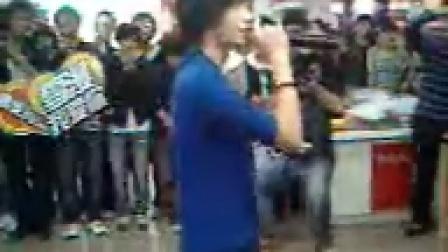 刘欣 放手的勇气 饶雪漫盘锦签售会