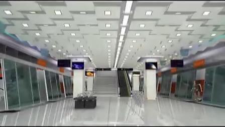 地铁站台动画!