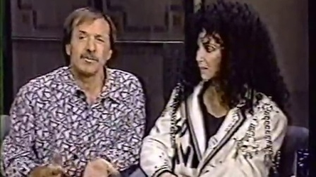 SONNY AND CHER sing I GOT YOU, BABE on David Letterman 1980s