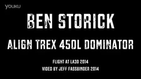 Ben Storick Align Trex 450L Dominator at LA3D 2014