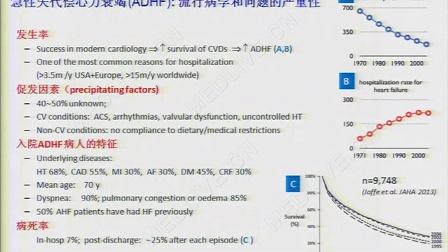 杜晓军:松弛素治疗急性失代偿心衰的最新临床试验:转化启示