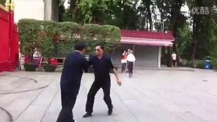 蔡松芳老师推手法