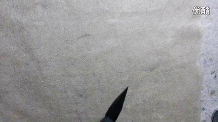 毛笔如何捻管调锋示范2(寄棘堂出品)