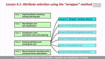 Weka在数据挖掘中的运用之二 4.1 (英文字幕)