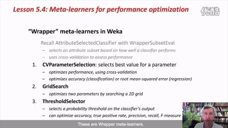 Weka在数据挖掘中的运用之二 5.4 (英文字幕)
