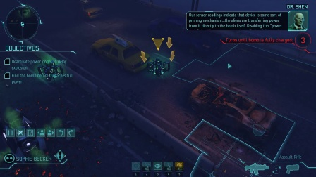 XCOM: Enemy Within, 第三期,美国炸弹解除任务