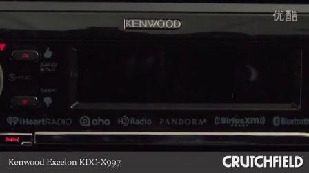 建伍KDC-U7056BT操作演示视频-陈小威汽车音响