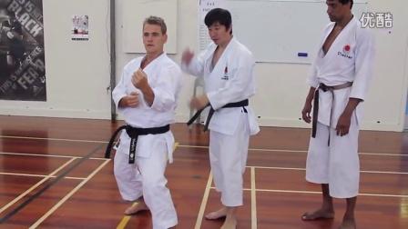 中達也師範 2014新西兰 組手2