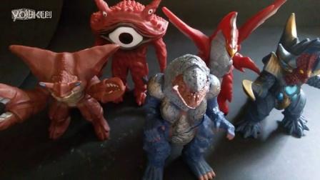 【超神制作】DX银河奥特曼怪兽500系列软胶/格尔赞/美尔巴/雷丘巴斯/超哥布/眼Q/五帝王