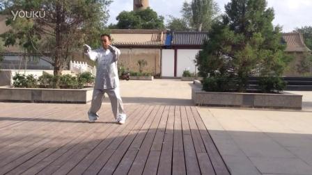 张掖广场学练太极拳之二十四式