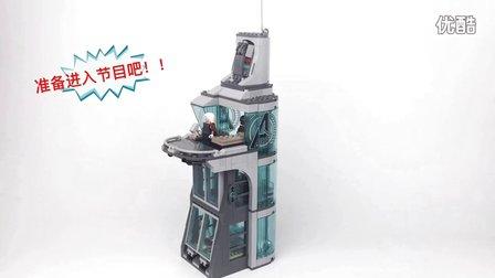 AI流裔 乐高 玩具 复仇者联盟 大厦