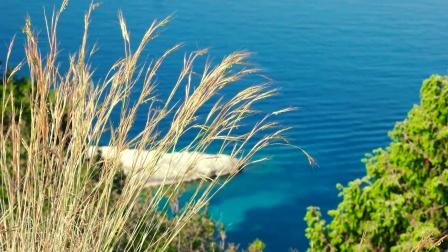 水天一色夏日轻柔的纯音乐自然美景