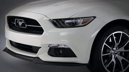 2017福特野马GT 五十周年纪念版 外观设计