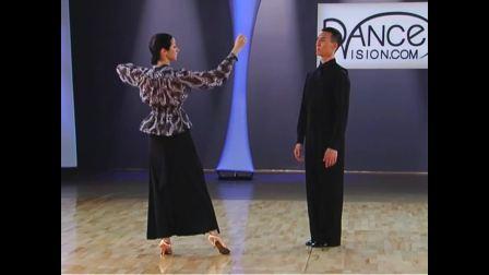 摩登舞基础[中文]《狐步规范动作与技巧》维克多冯&安娜_720P