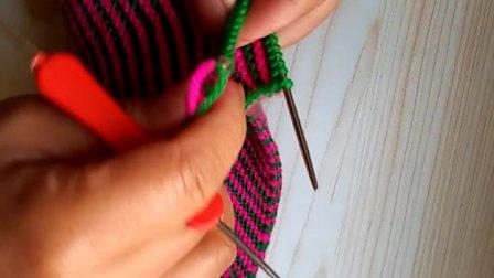 第四集手工编织最简便的收针方法