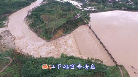 【拍客】洪水中的金鸡河