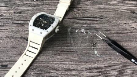 【评测】里查德米尔男士系列RM 055腕表  江诗丹顿