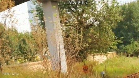 塘沽南站新华路道口东风7调机