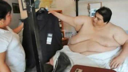 世界最胖之人将于月内完婚
