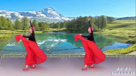 新疆和田麦西莱浦 演绎 紫玉 新疆舞