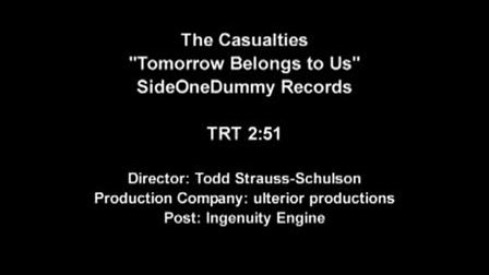 TheCasualties Tomorrow Belongs To Us 经典MV