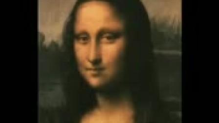 搞笑-蒙娜丽莎的怪异微笑
