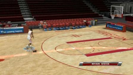 我的NBA2K9练习模式
