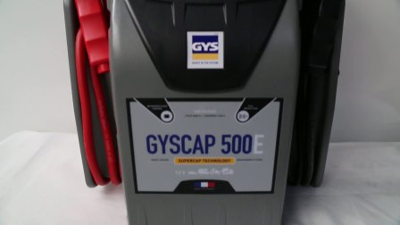 GYSCAP 500 E (GYS 吉欧斯 EN)