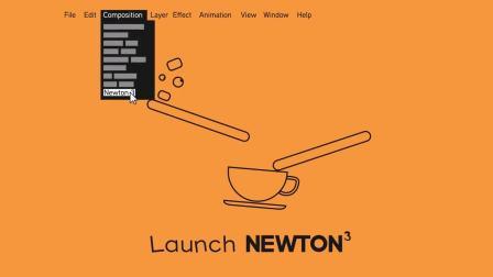 AE插件-牛顿动力学插件 中文汉化版Newton 3.1.5 Win+ 视频教程