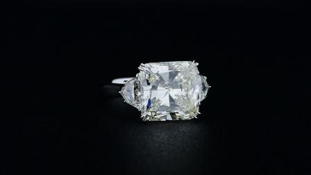 #JCRW05392276# 5.71克拉白钻戒指