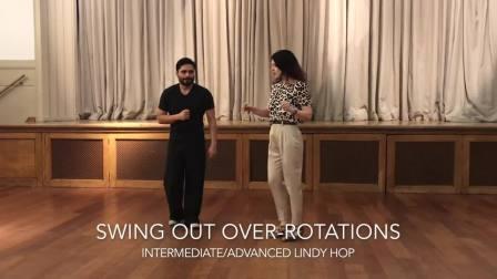 Sharon and Josh - Over Rotated Swingout
