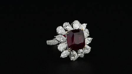 #JCRG05391358# 5.42克拉红宝石戒指