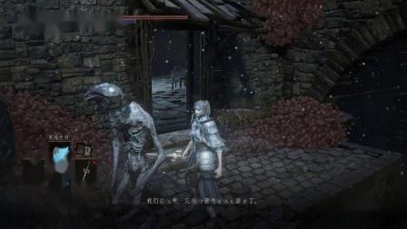 《黑暗之魂三》法师路线全剧情收集娱乐流程解说DLC2环印城P4